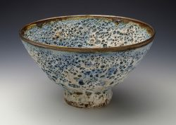 Crater Glaze Bowl, porcelain