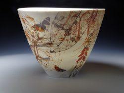 Fragmentation series, 2016, porcelain