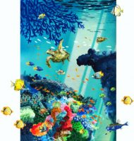 The-Great-Barrier-Reef-Print-on-25-x-20cm-paper